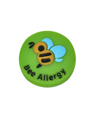 Bee Allergy Charm