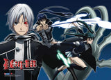 D. Gray-man: Group Fight Wall Scroll