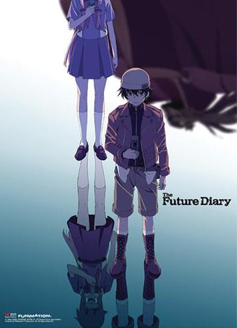 Future Diary: Key Art Wall Scroll -Displayed-