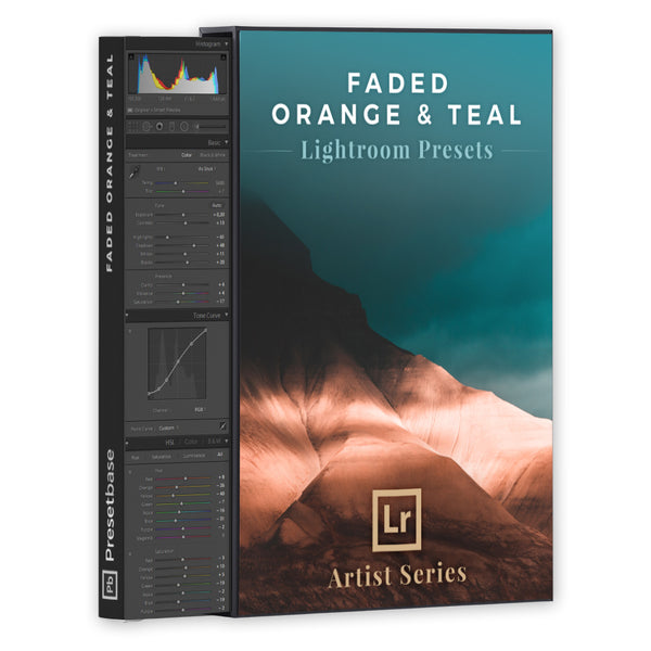 Faded Orange & Teal – Lightroom Presets (Artist Series) | Presetbase