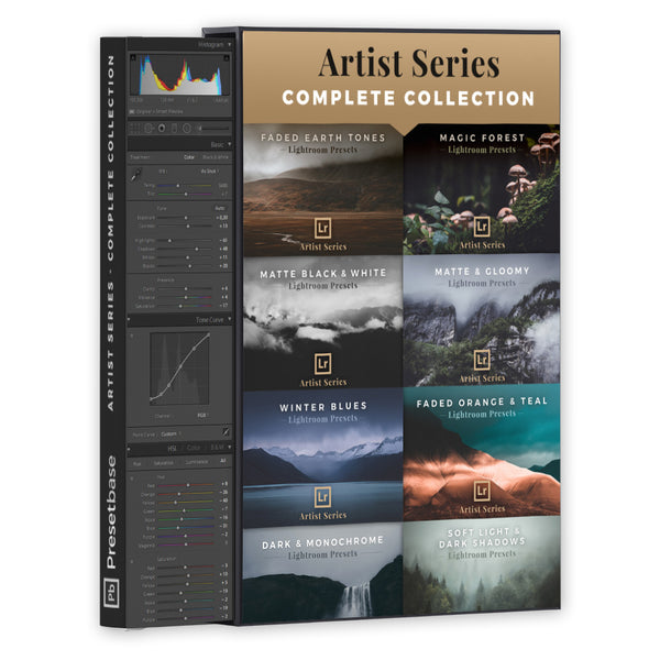 Lightroom Presets for Fine Art Photography (Artist Series Collection) | Presetbase