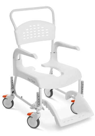 Etac Clean Shower/Commode Chair with Adjustable Height