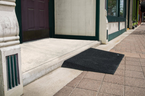 "EZ-ACCESS Beveled Rubber Threshold Ramp (1.5"" & 2.5"")"