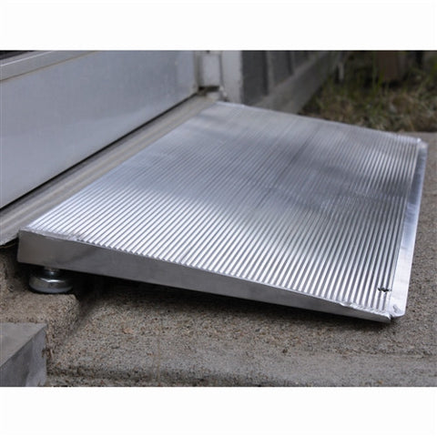 "PVI Adjustable Threshold Aluminum Ramp (1"" - 6"")"