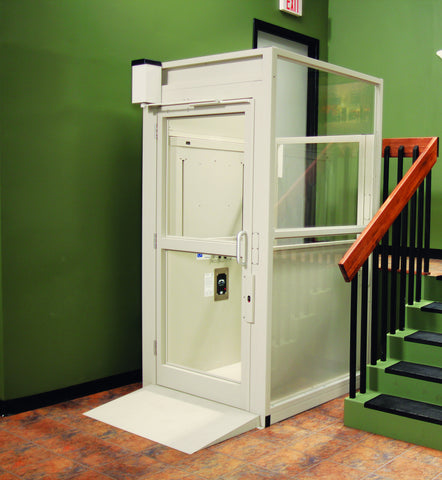 Bruno Commercial Vertical Wheelchair Platform Lift