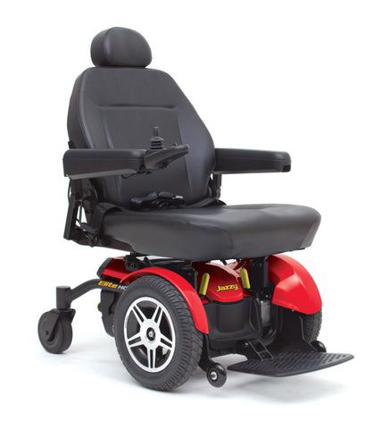 Jazzy Elite HD Heavy Duty - Higher Weight Capacity Wheelchair