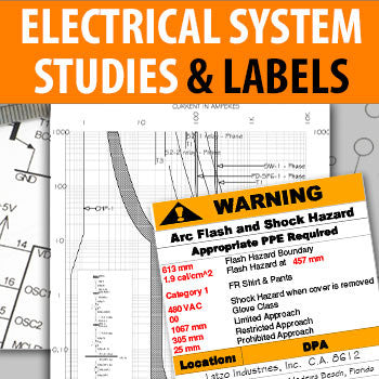 Electrical System Studies Arc Flash Labels - Engineer PDH Course Online | EngineerXED.com