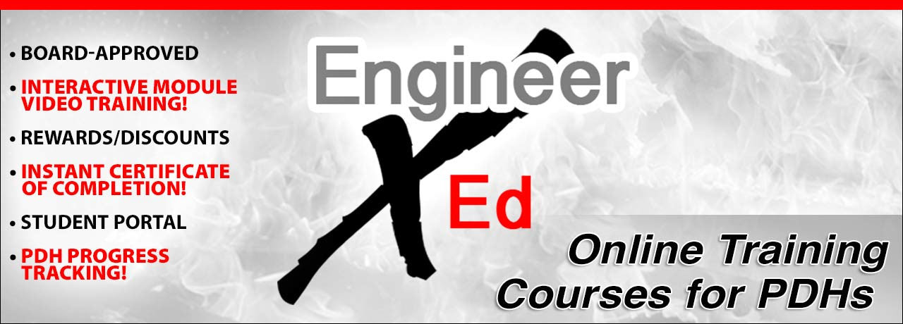 Continuing Education Courses PDH for Engineers