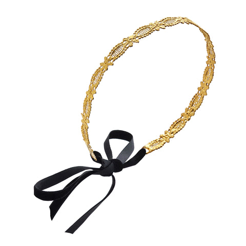 Mary 24k GOLD-PLATED HEADBAND