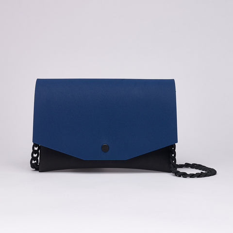 BLUE / BLACK CLUTCH