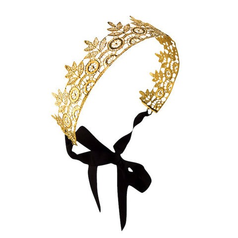 Elizabeth 24K gold plated HEADBAND
