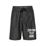 Custom Text Men's Swim Shorts