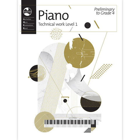 AMEB Piano Technical Work 2018 – Level 1