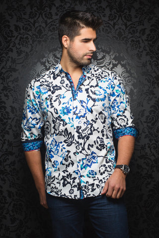Chopin White Royal Au Noir Shirt