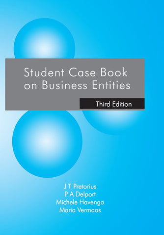 Student Casebook on Business Entities 3E - Elex Academic Bookstore