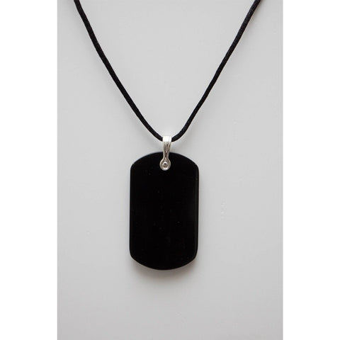 Safe Connect Plus - Body Shield - Dog Tag - Black