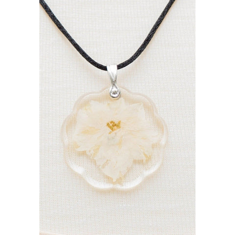 Safe Connect Plus - Dried Flower Body Shield - Elegant White