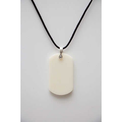 Safe Connect Plus - Body Shield - Dog Tag - White