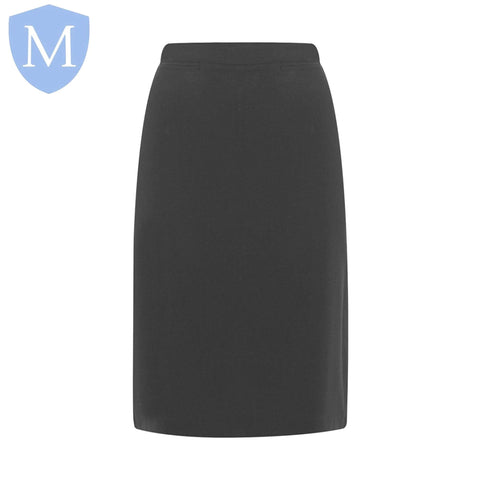 Plain Girls Long Skirts - Mid Grey