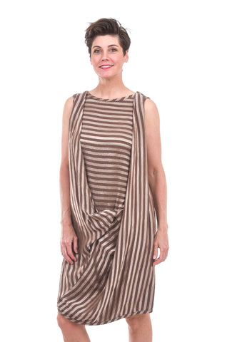 Cynthia Ashby Tempt Dress, Cocoa Chestnut