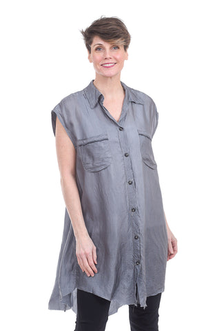 Skif International CP Rayon Dress, Silver Gray One Size Gray