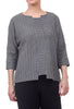 Niche Bricks Lula Top, Gray
