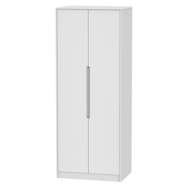 Chelsea Gloss - Tall 2ft6 Double Hanging Wardrobe