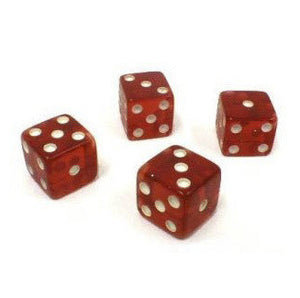 Dice Tops and Bottoms (Missouts) 4,5,6 & 1,2,3 - Casino Supply