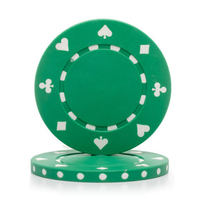 11.5 Gram Suited Poker Chips (25/Pkg)