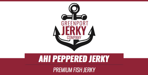 AHI PEPPERED FISH JERKY