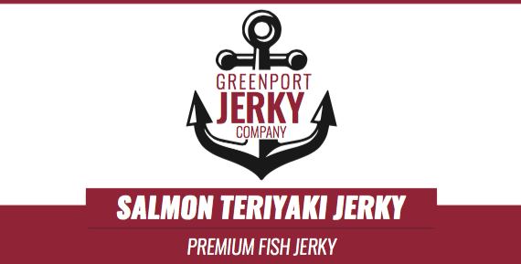 SALMON TERIYAKI FISH JERKY