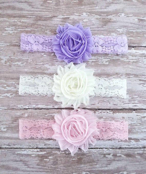 Lace Headband Set - LoliBean