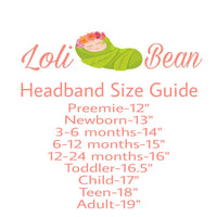 Yellow Headband Set, Yellow Baby Headbands, Newborn Headbands, Girls Headbands - LoliBean