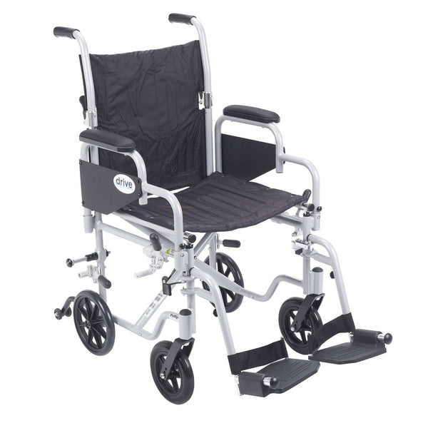 Drive Tr18 Poly Fly Light Weight Transport Chair