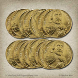 15 Mace Tyrell Half-Dragons Gaming Coins