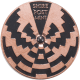 Copper Strobe Spinning Top - Spinning Coins, Shire Post Mint,