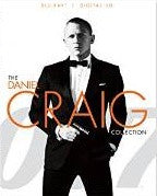 007 Daniel Craig Collection Casnio Royal/Quantum of Solace/Skyfall Digital Copy Download Code UV Ultra Violet VUDU HD HDX