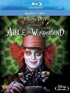 Alice in Wonderland Digital Copy Download Code Disney XML