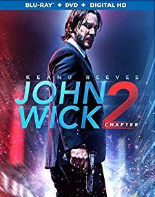 John Wick Chapter 2 Digital Copy Download Code iTunes 4K