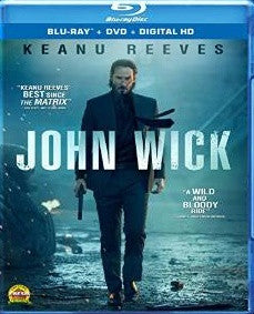 John Wick Digital Copy Download Code iTunes HD 4K