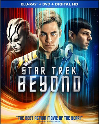 Star Trek Beyond Digital Copy Download Code iTunes HD 4K