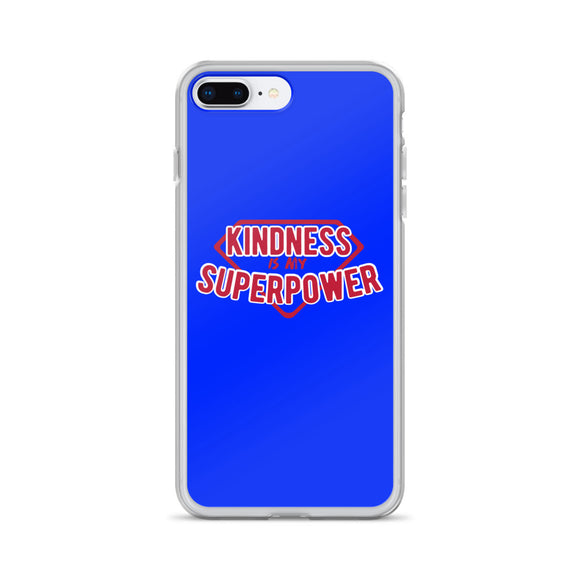 Kindness Is My Superpower iPhone Case