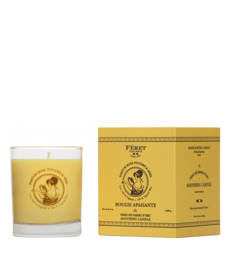 Rose & Honey Soothing Candle