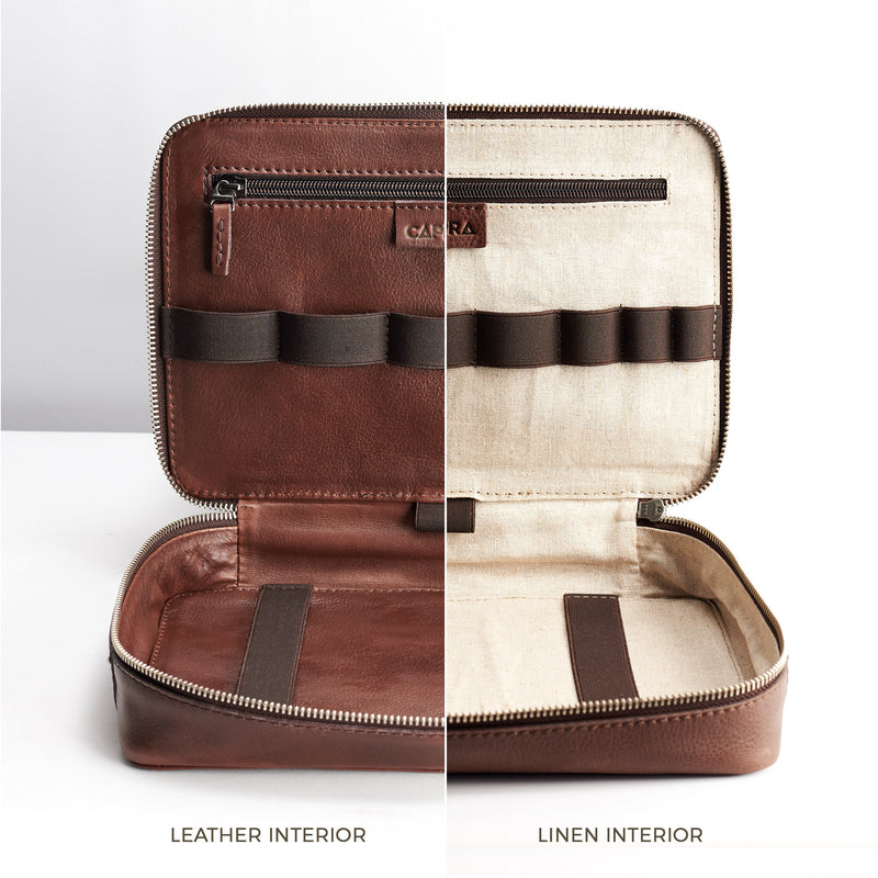 Gadget Travel Bag · Brown