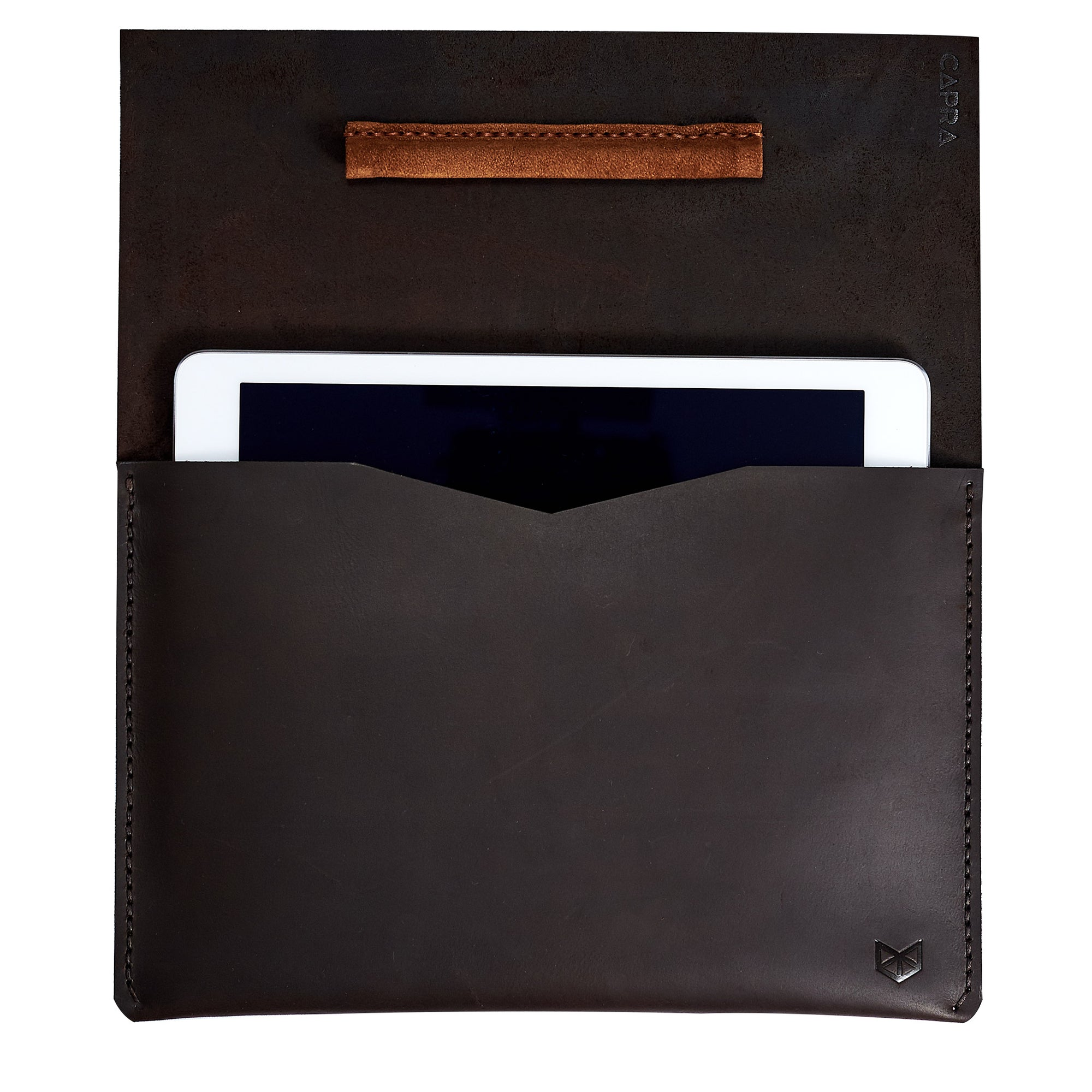 Draftsman 1 iPad Case · Marron