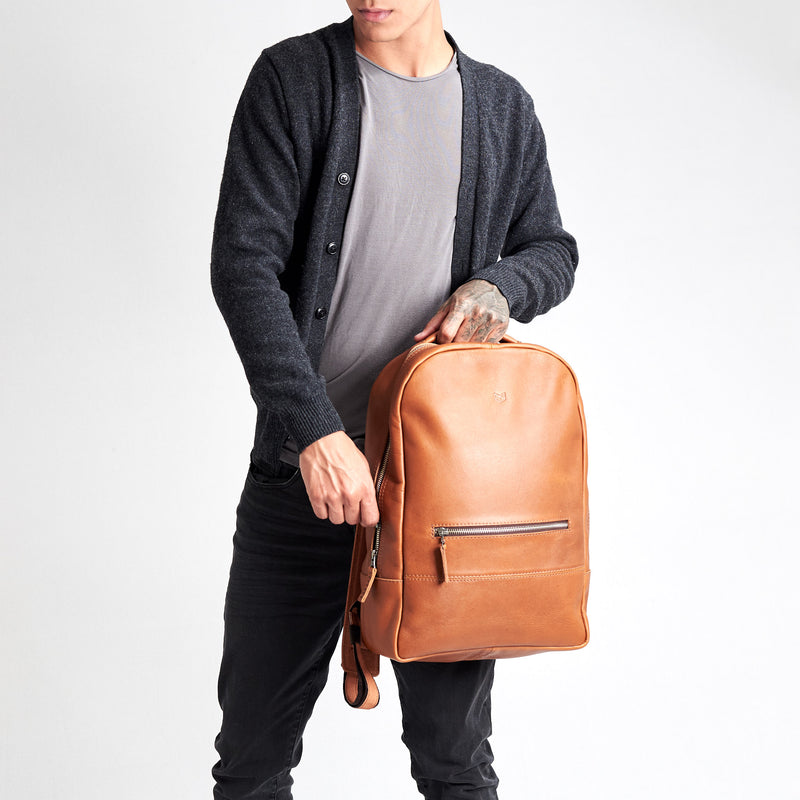 Bisonte Backpack · Tan
