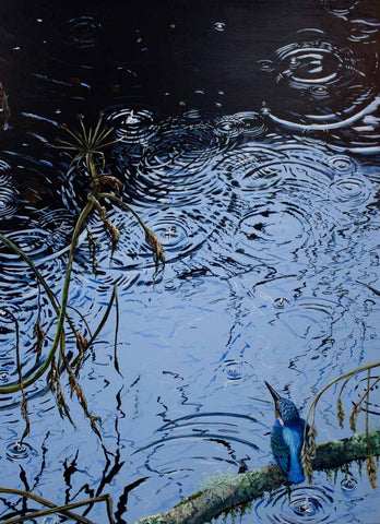 Ripples. Signed print 8 x 6 inches