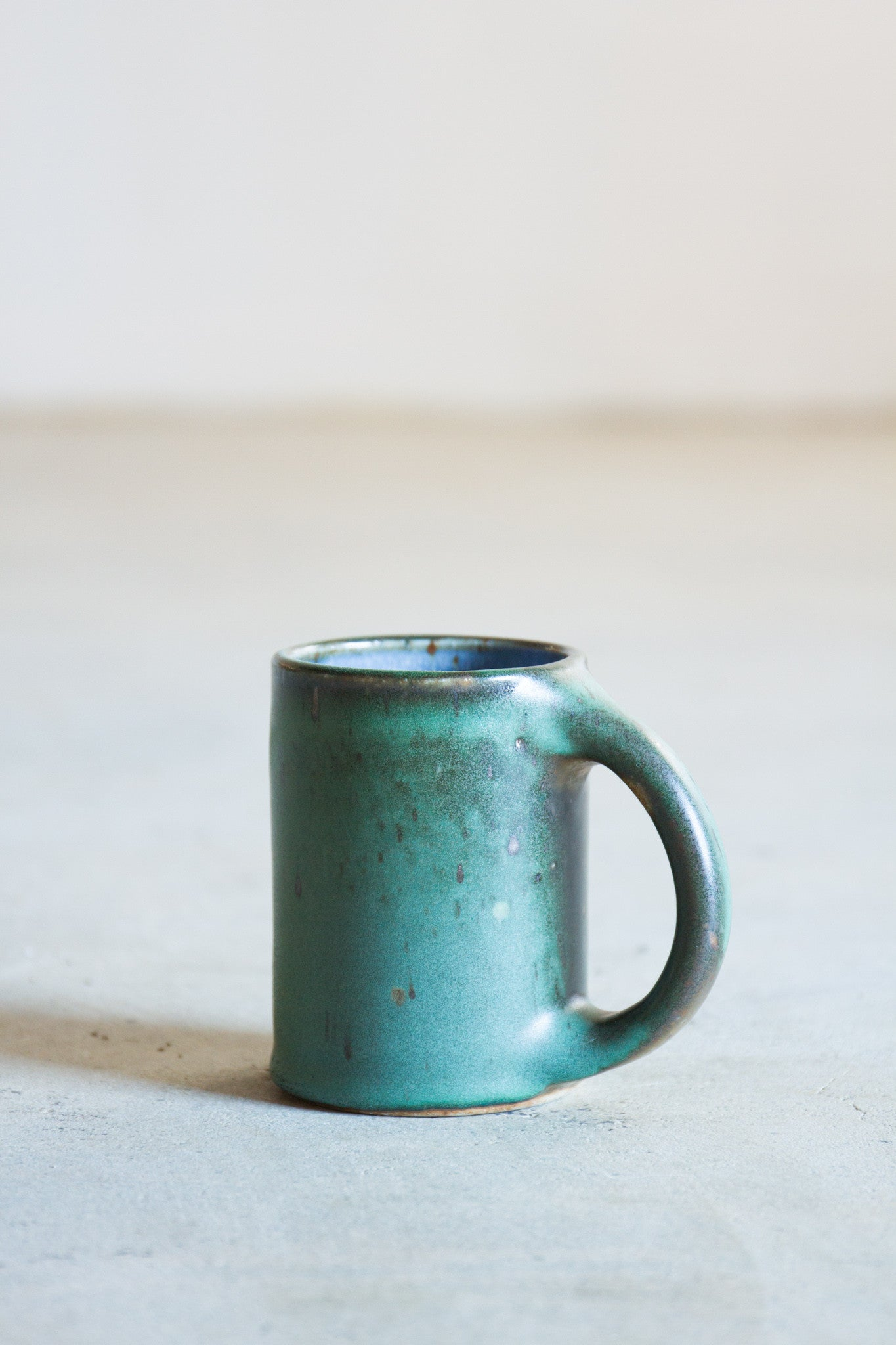 Kim Hau Green Coffee Mug