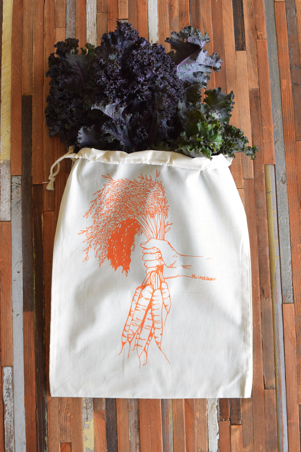 Oh, Little Rabbit - Carrots Produce Bag