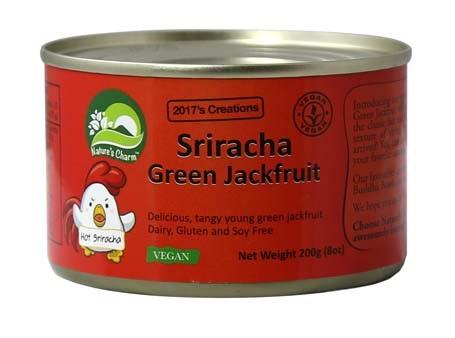 NATURE'S CHARM SRIRACHA GREEN JACKFRUIT